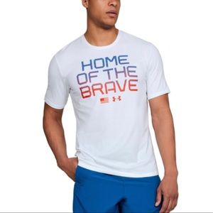 🧡3 for $25🧡 Under Armour Men's Home of The Brave